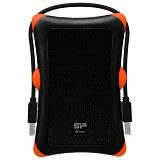 SILICON POWER Armor A30 USB 3.0 1TB [A30-1TB] - Black - Hard Disk External 2.5 inch